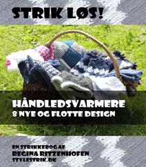 98. Strik løs - Håndledsvarmer 8 nye flotte designs af Regina Ritzenhofen