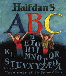 Halfdans ABC af Halfdan Rasmussen og Ib Spang Olsen