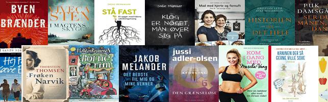 Bestsellere og populære bøger – Top 10