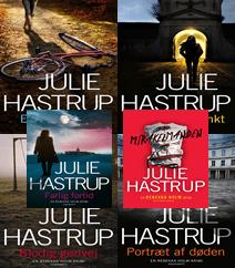 Rebekka Holm krimiserien af Julie Hastrup – Få overblik og læs resumé af alle bind her