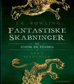 Hogwarts biblioteket til Fantastiske skabninger og hvor de findes af Newt Scamander af J. K. Rowling