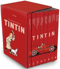 The Tintin Collection (The Adventures of Tintin Compact Editions) af Hergé – Tegneserier