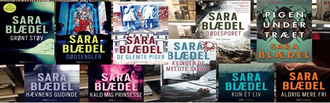Sara Blædel kriminalserien om Louise Rick – De 10 prisvindende bind