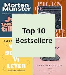 Bestsellere top 10 – De mest populære bøger